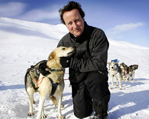 David-Cameron-huskies