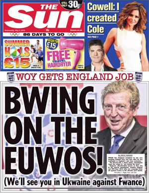 The-Sun-Roy-Hodgson-front-page.jpg